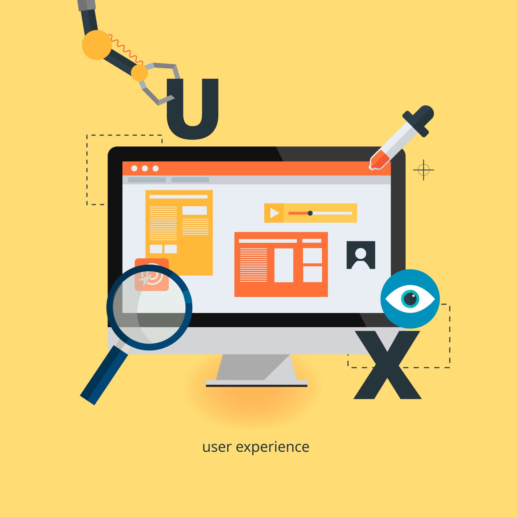 user experience website