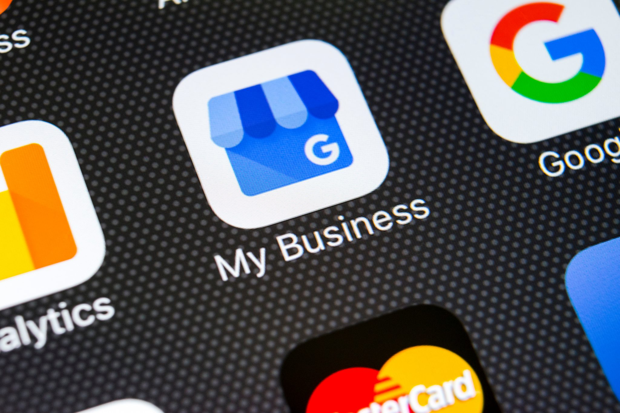 Google my business app on phone