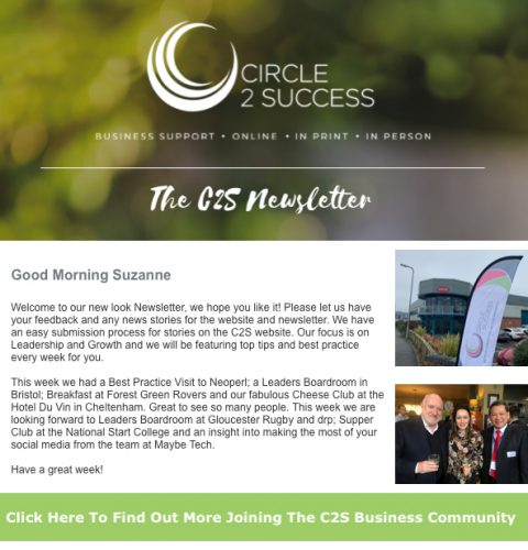C2S Email Newsletter