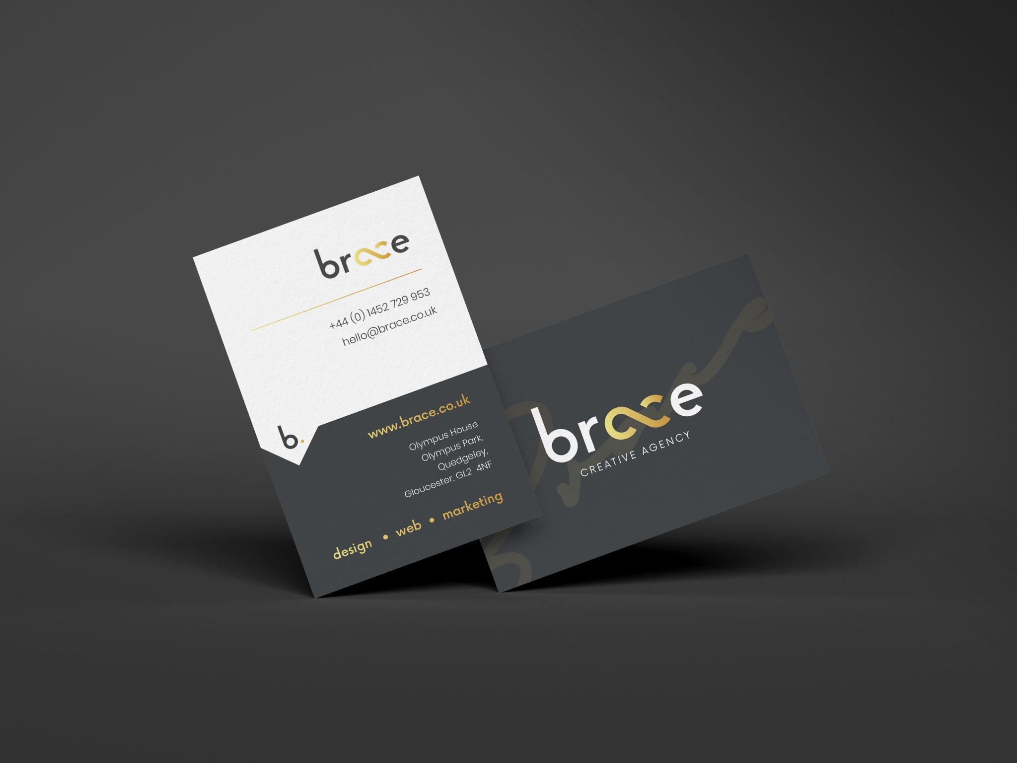 Brace Business Card