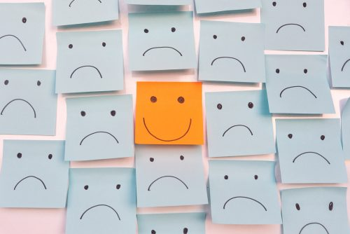 Post It Notes - Staying Positive