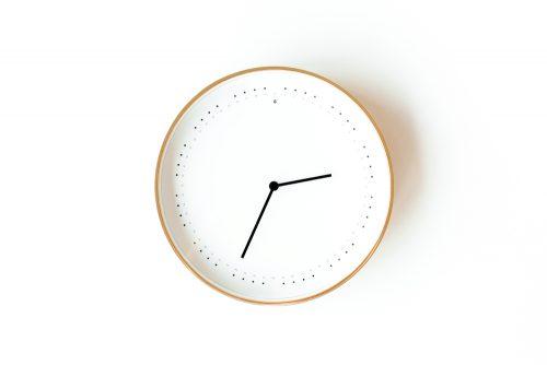 Clock - Maintaining Regular Working Hours