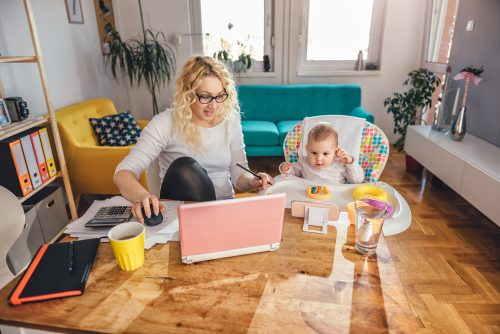 Mother and Baby - Getting Rid of Distractions