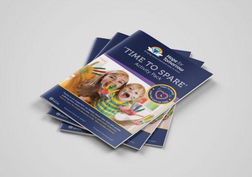 Print design leaflets