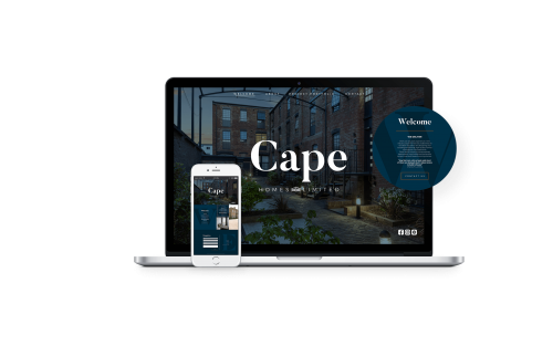 Cape Homes Website