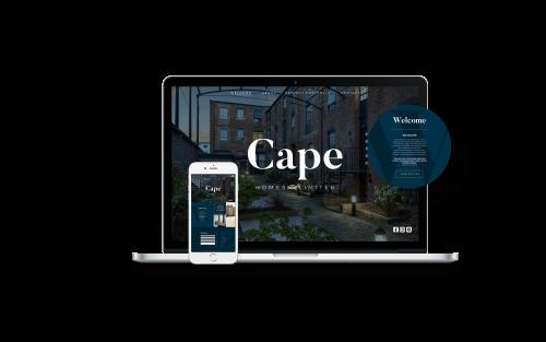 Cape Homes Website