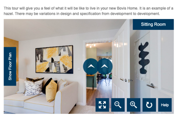 Bovis Homes Virtual Lounge Tour