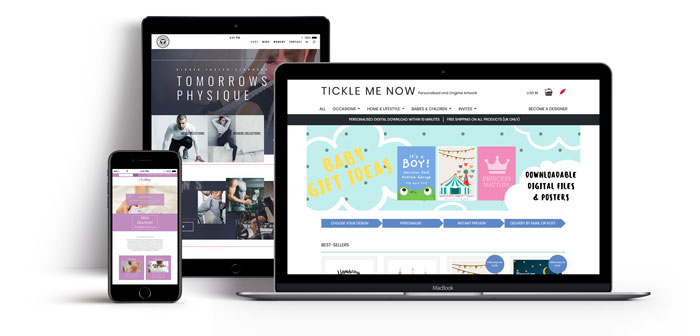 designing successful e-commerce websites Featured Image