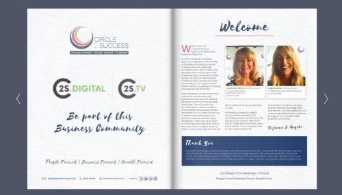 Digital flipbook design
