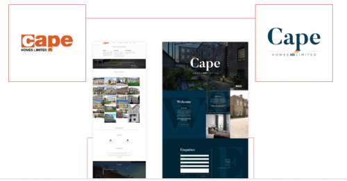 Cape Homes Rebranding