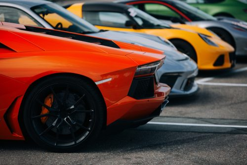 Supercars,At,The,Parking,Lot