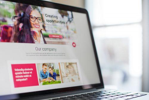 Website,Design,On,A,Laptop,Screen