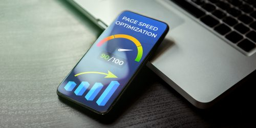 Mobile,Page,Speed,Optimization,Concept.,Website,Page,Speed,Loading,Time
